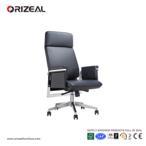 Orizeal Padded High Back Executive Chair, Contemporary Design Leather Office Chair (OZ-OCL008A) pictures & photos