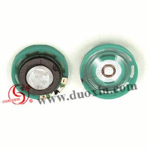 29mm 8, 16, 32 Ohm Green Mini Plastic Speaker Plant pictures & photos