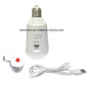 Muitl Functional 7W LED Bulb with E27 Base/Rechargble Light/Bulb