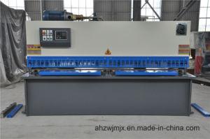 QC12k 6*3200 Hydraulic CNC Swing Shearing Machine pictures & photos