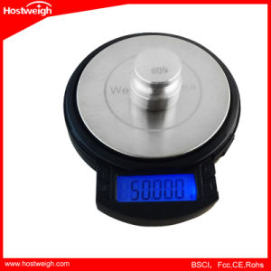 600g/0.05g+1200g/0.1g Mini Precision LCD Digital Jewelry Scale pictures & photos
