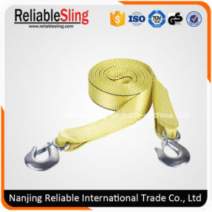 Polyester off-Road Recovery Snatch Strap with Forged Hooks pictures & photos