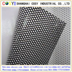 Perforated One Way Vision Vinyl Glass Sticker pictures & photos