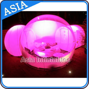 Transparent Lighting PVC Snow Bubble Dome Tent for Holiday and Party Decorations pictures & photos