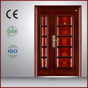Simple Entry Door for Building Project Low Price pictures & photos