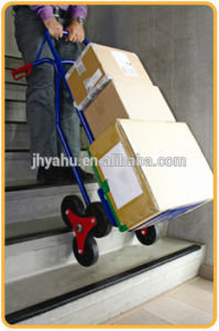 Heavy Duty Stair Climbing Hand Truck Tool Cart with Six Wheels (YH-HK003) pictures & photos