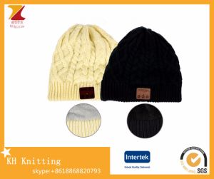 Winter Knitted Music Headphone Bluetooth Beanie with High Quality pictures & photos
