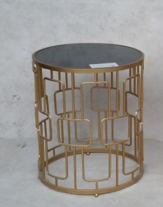 Temporary Metal Coffee Table with Marble Top Metal Furniture pictures & photos