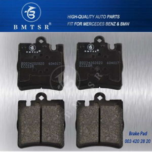 Rear Brake Pad Set 0034202820 for: Mercedes W203 W209 C280 Clk320 R171 pictures & photos