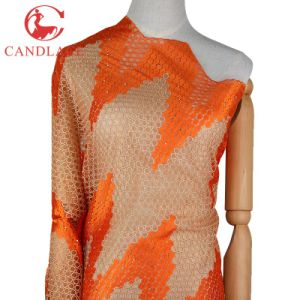 New Design Fashion Chemical Lace Embroidery Fabric pictures & photos