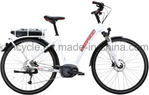 700c MID Motor Electric Bike with Bafang Max Central Motor System/Torque Sensor Electric Bike for Europe Market/E-Bike with Central Motor (SY-E2813) pictures & photos