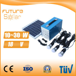 Mini 10W Portable Solar Kit System Portable Solar Enegy System pictures & photos