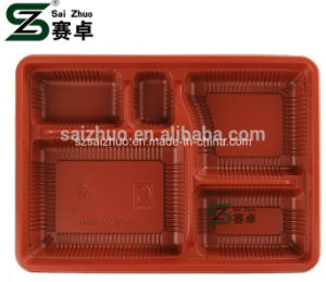 5 Compartment Disposable Plastic Take Away Food Box pictures & photos