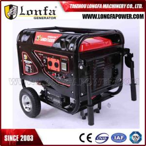 15HP Air Cooled Silent 6kw Gasoline Generator (Key Start with battery) pictures & photos