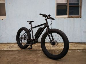 Fat Tire Electric Bike Bicycle with Middle Motor pictures & photos