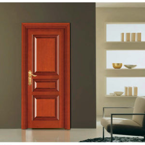 Classic Interior Solid Cherry Wooden Room Door (GSP2-077) pictures & photos