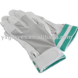 Work Gloves-Garden Glove-Safety Glove-Pig Grain Leather Glove-Labor Glove pictures & photos