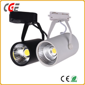 Black Color CREE Chip 30W Ra>90 COB LED Track Light pictures & photos