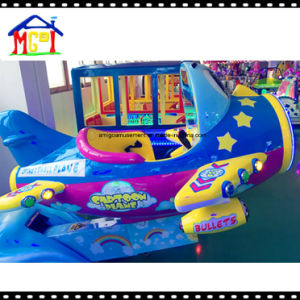 Fiberglass Kiddie Ride Slot Game Machine Cute Plane pictures & photos