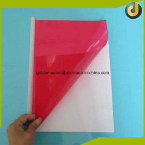 Transparent PVC Sheet Binding Cover Factory Supplier pictures & photos