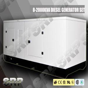 50Hz 247kVA silent Type Diesel Generator Powered by Cummins (DP247KSE)