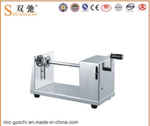 Cheap Price Commercial Electric Type Twisted Potato Cutter for Sale pictures & photos