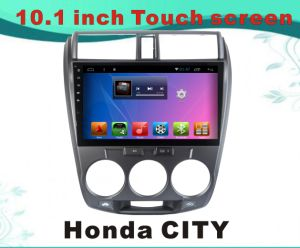 Android System Car DVD Player for Honda City 10.1 Inch Capacitance Screen with Bluetooth/WiFi/GPS pictures & photos