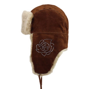 Rhinestone Trapper Hat pictures & photos