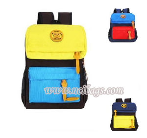 2017 Promotional Colorful Sports School Student Backpack Bag