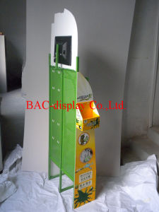 Hot Sale Factory Outlets Metal Gluewater Display Stands with Hooks pictures & photos