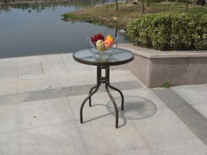 Metal Outdoor Rattan Table and Chair pictures & photos