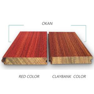 Wood Flooring /Okan Hard Wood Flooring /Solid Iroko Flooring pictures & photos