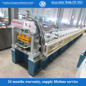 Aluminum Roofing Sheet Metal Roll Forming Machine pictures & photos