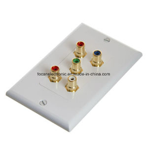 RCA Multimedia Wall Plate pictures & photos