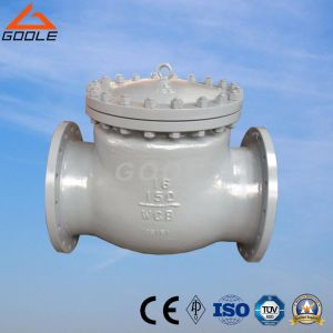 150lb Flanged End Swing Check Valve (GAH44H) pictures & photos