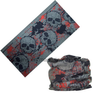 Wholesale Cheap Custom Head Wrap Polyester Tube Sport Wristbands Bandanas pictures & photos