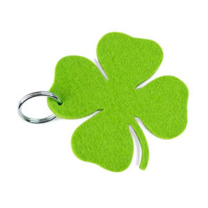Promotional Fashion Custom Design Felt Keychain pictures & photos