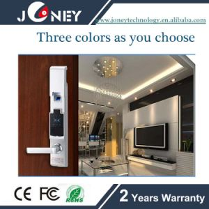 Hot Sale Intelligent Fingerprint Lock with Code and ID Card pictures & photos