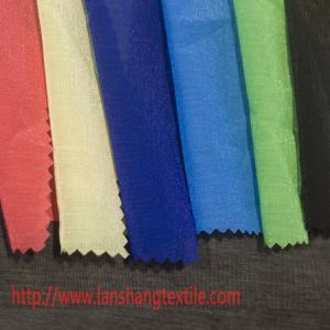 Bright Chemical Fiber Dyed Plain Polyester for Full Dress Lining pictures & photos