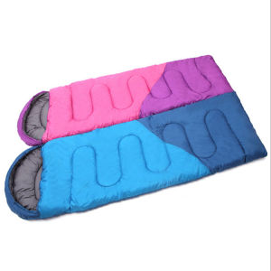 New Envelope Hooded Hollow Cotton Sleeping Bag pictures & photos