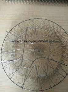 Metal Wire Mesh Fry Oil Basket pictures & photos