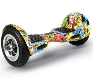 EU USA Warehouse 10inch Pneumatic Tyre Scooter 2 Wheel Hoverboard pictures & photos