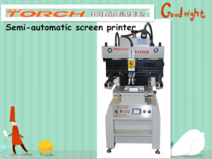 Semi Automation High Precision Screen Printing Machine pictures & photos