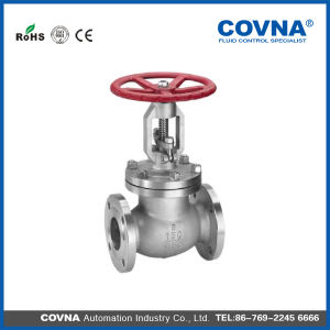 API 150lb 4 Inch Carbon Steel Flanged Globe Valve pictures & photos