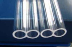 Double Core Quartz Tube/Translucent Quartz Glass Tube