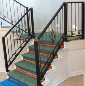 Cheapest Outdoor Wrought Iron Stair Railings for Sale