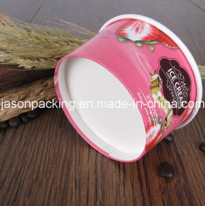 Custom Printed Disposable Paper Ice Cream Cup pictures & photos