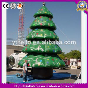 Hot Sale Top Christmas Tree Outdoor Inflatable Christmas Tree for Christmas Decoration