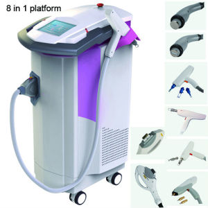 IPL RF ND YAG Laser Hair Removal Machine 2940nm Laser 810nm Diode Laser 1540nm Er: Glass Laser pictures & photos