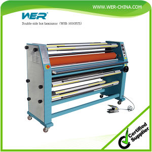 Double-Side Hot Laminator (WER-1600FZS) pictures & photos